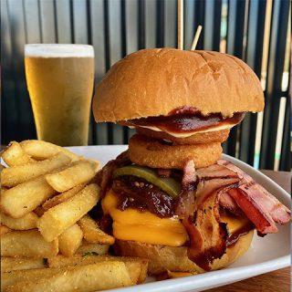 Smokey Cowboy Burger